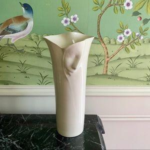 Blue Sky Porcelain Face vase